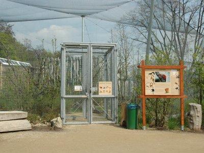 Eingang Lemurenwald