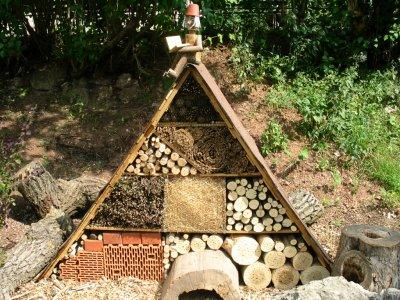 Insektenhotel an der Zooschule